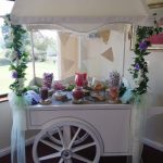 Wedding Hire Item | Wedding Flowers | Wedding Decor | Grays | Essex | Bepsoke Proposal - large sweet cart